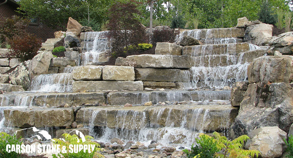 carson stone and supply omaha boulders natural stone belgard
