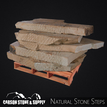 Blackhills Rustic Snapped Slab Steps 815