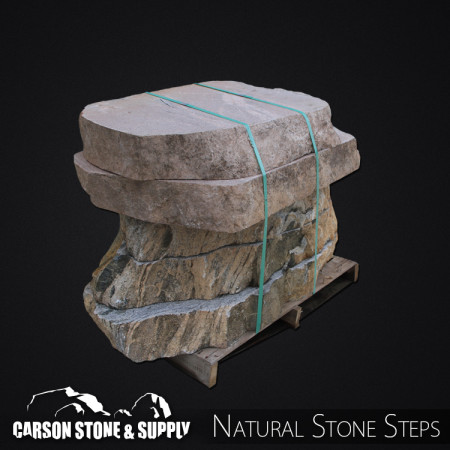 Granite Random Sawn Steps 1065