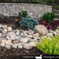 Huntington Colorful Cobble Dry Creek Bed