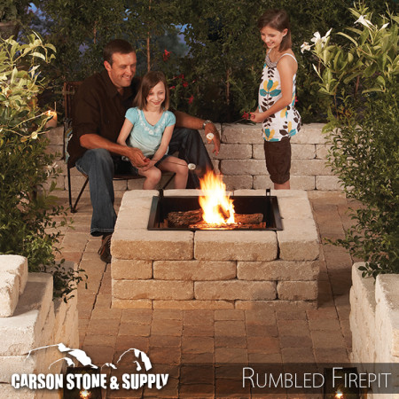Pavestone Anchor Rumbled Firepit