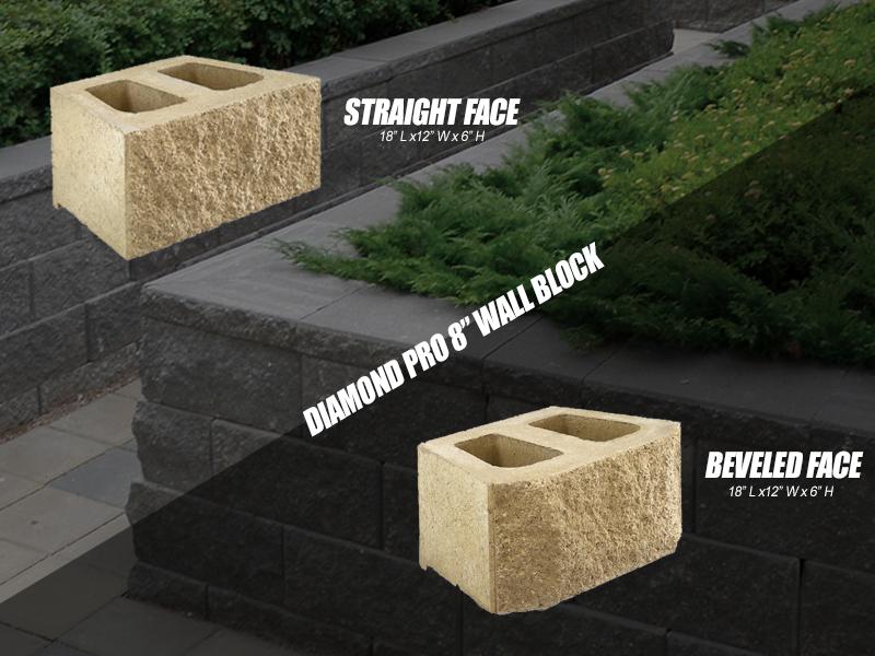 Retani R612 8 Wall Block Formally Diamond Pro Carson